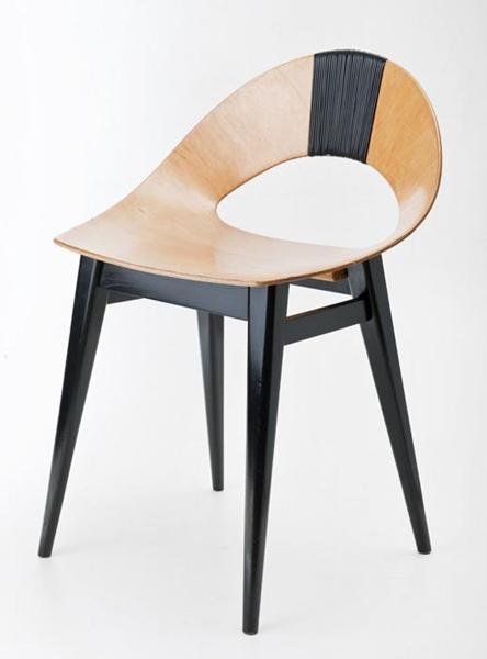 krzesło z giętej sklejki
